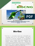 Presentation on Bio-CNG
