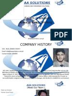 AAA Solution Profile