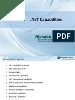 .NET Capability Document