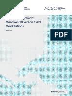 PROTECT - Hardening Microsoft Windows 10 Version 1709 Workstations (April 2019)