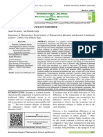 Dementia a Neurodegenerative Disorder