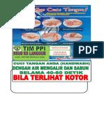 Gambar Cuci Tangan Dan Logo Ppi