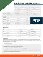 Kaufvertrag Pkw Von Privat Data