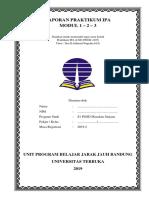 Lkm Praktikum Ipa UT Modul 1-2-3