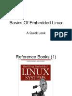 Basics of Embedded Linux