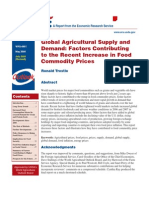 Factors Contributing to Food Prices, Trostle R
