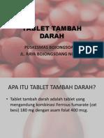 Tablet Tambah Darah