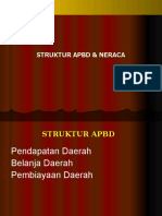 Struktur APBD & Neraca - 2