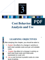 Chapter 3 Cost Behavior Analysis and Use