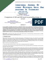Comparison of AIS and GIS