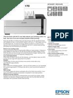 EcoTank ET M1170 Datasheet