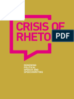 Crisis of Rhetoric Report