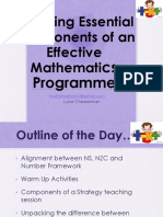effective mathematics teaching in nz 2016