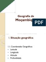 Aula 2 Geografia de Moçambique Trabalho