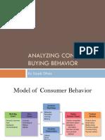 Analyzing Consumer & Business Buying Behavior