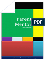 parent mentor training manual - 21st century parenting module