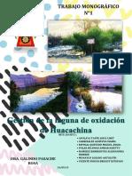 Gestión de La Laguna de Oxidación de Huacachina