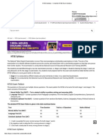 NTSE Syllabus - Complete NTSE Exam Syllabus