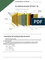 Detalii Tehnice Pentru Casele Pe Structuri Din Lemn Tip Framing