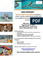 17-10-19 Taj Exotica - New Job Openings