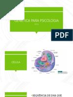 Genética Psicologia - Slides 2019.2 PDF