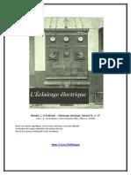 eBook J. Blondin - L'Eclairage Électrique, Volume IV