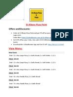 St Albans Pizza Point menu - Pizza delivery Restaurant St Albans, VIC