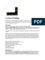 Levels of Reading