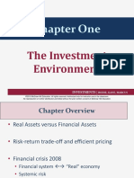 Investments. Lecture 1