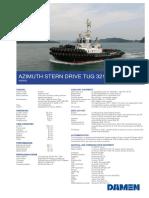 Product Sheet Damen ASD Tug 3212 Mars YN512531 02 2017
