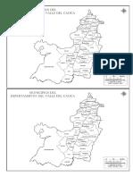 mapa del valle de cauca