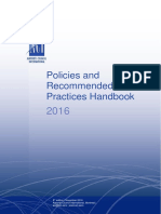Policies and Recommendetion practices handbook-2016