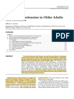 Treating Hypertension in Older Adults