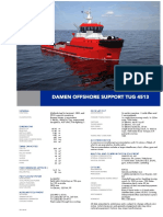 Product Sheet Damen Offshore Support Tug 4513-06-2015