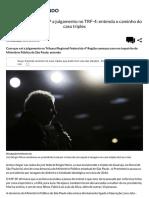 Entenda Caminho Do Caso Tríplex Que Pode Tirar Lula Das Eleições - Política - IG