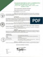 Municipalidad Distrital de la Esperanza