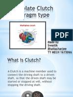 Multiplate Clutch Diaphragm Type