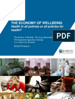 The Economy of Wellbeing - Health in All Policies or All Policies for Health