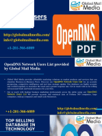 OpenDNS Network Users List.pptx