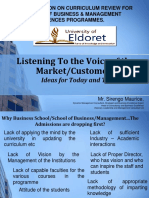 Listening to the Voice of the Market