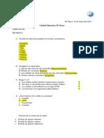 Cuestionario de Biologia Pre BI