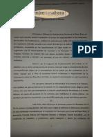 Caso Pedroza/Larroque/Parroquia
