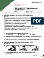 SOAL ULANGAN KELAS 1 TEMA 2.pdf