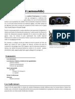 Tableau de Bord (Automobile)