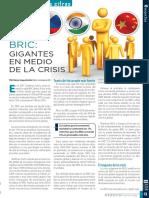BRIC Gigantes en Medio de La Crisis