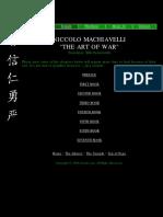 Machiavelli - Art Of War.pdf