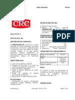 TDS Aceite Penetrante- Penetrating Oil