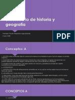 Diccionario de Historia y Geografía.