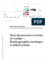 BS en ISO 1435 _ Nondestructive Testing _ X Ray