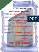 Monografia La Comunicasion Interna